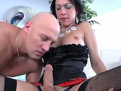Hot shemale Danika Dreamz is feeling like having her cock sucked today, she is one powerful bitch and knows hot find a man and make him do whatever she want to her body and cock.