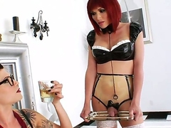Danni Daniels and Eva Lin are enjoying a great lesbian softcore together