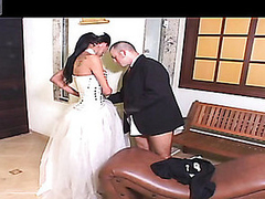 Sexy shemale bride can