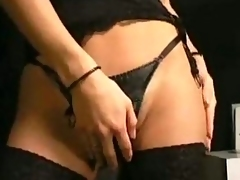Blowjob and anal drilling are the best satisfaction for this ladyboy!