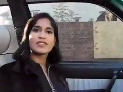 Amateur Indian In Sexy Stockings Riding Cock
