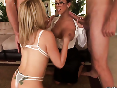 Otto Bauer is horny and cant wait any longer to pound dangerously horny Rachel Starrs mouth